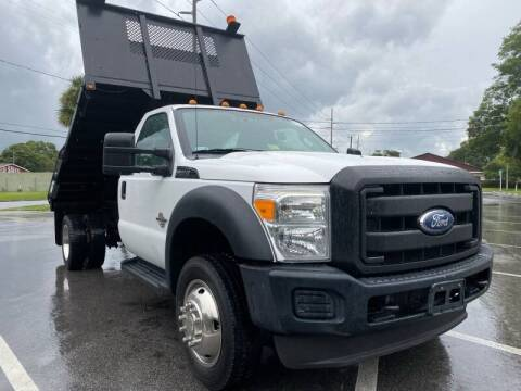 2011 Ford F-450 Super Duty for sale at LUXURY AUTO MALL in Tampa FL
