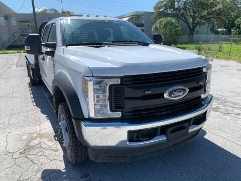 2019 Ford F-550 Super Duty for sale at LUXURY AUTO MALL in Tampa FL