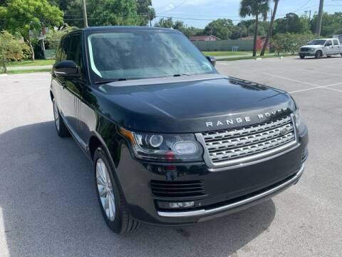 2014 Land Rover Range Rover for sale at LUXURY AUTO MALL in Tampa FL