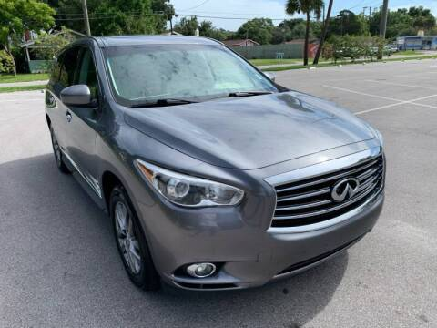 2015 Infiniti QX60 for sale at LUXURY AUTO MALL in Tampa FL