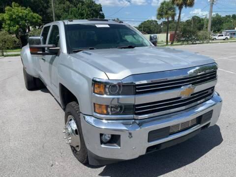 2015 Chevrolet Silverado 3500HD for sale at LUXURY AUTO MALL in Tampa FL