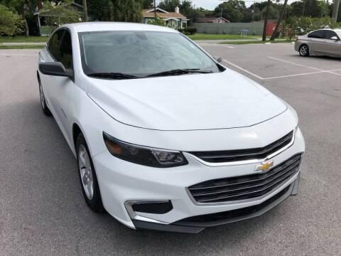 2016 Chevrolet Malibu for sale at LUXURY AUTO MALL in Tampa FL