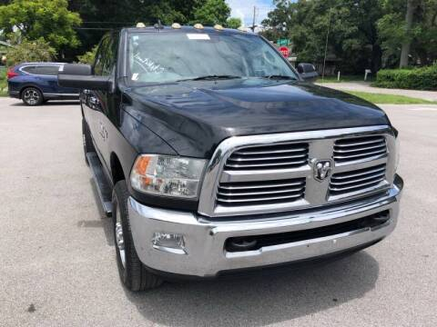 2013 RAM Ram Pickup 2500 for sale at LUXURY AUTO MALL in Tampa FL