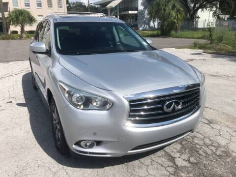 2013 Infiniti JX35 for sale at LUXURY AUTO MALL in Tampa FL