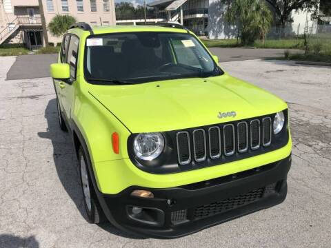2017 Jeep Renegade for sale at LUXURY AUTO MALL in Tampa FL