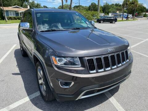 2014 Jeep Grand Cherokee for sale at LUXURY AUTO MALL in Tampa FL