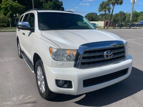 2012 Toyota Sequoia for sale at LUXURY AUTO MALL in Tampa FL