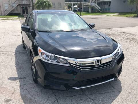 2017 Honda Accord for sale at LUXURY AUTO MALL in Tampa FL