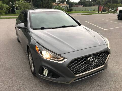 2018 Hyundai Sonata for sale at LUXURY AUTO MALL in Tampa FL