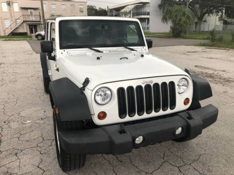 2013 Jeep Wrangler Unlimited for sale at LUXURY AUTO MALL in Tampa FL
