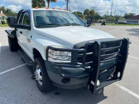 2009 Dodge Ram Chassis 3500 for sale at LUXURY AUTO MALL in Tampa FL