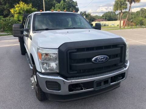 2011 Ford F-350 Super Duty for sale at LUXURY AUTO MALL in Tampa FL