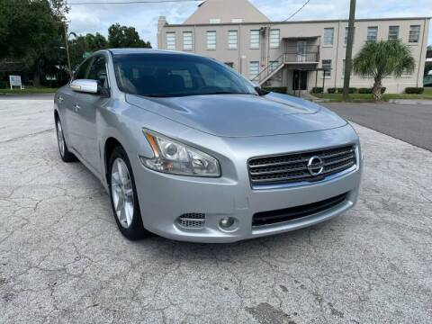 2010 Nissan Maxima for sale at LUXURY AUTO MALL in Tampa FL