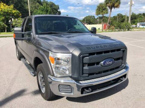 2012 Ford F-250 Super Duty for sale at LUXURY AUTO MALL in Tampa FL
