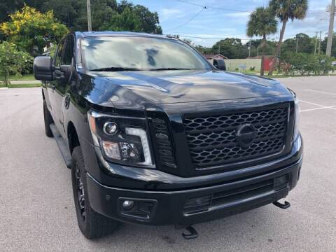 2018 Nissan Titan XD for sale at LUXURY AUTO MALL in Tampa FL