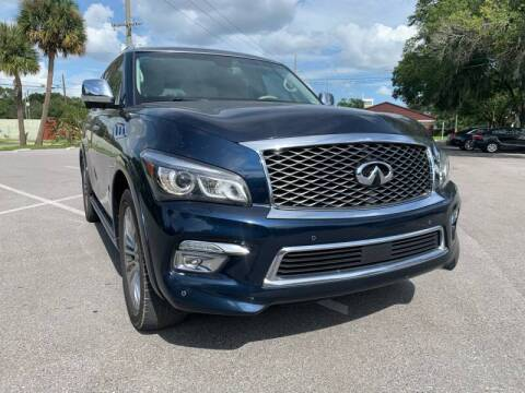 2016 Infiniti QX80 for sale at LUXURY AUTO MALL in Tampa FL