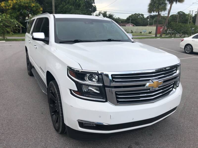 2016 Chevrolet Suburban for sale at LUXURY AUTO MALL in Tampa FL
