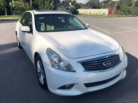 2012 Infiniti G37 Sedan for sale at LUXURY AUTO MALL in Tampa FL