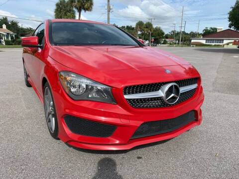 2014 Mercedes-Benz CLA for sale at LUXURY AUTO MALL in Tampa FL