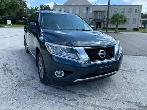 2014 Nissan Pathfinder for sale at LUXURY AUTO MALL in Tampa FL