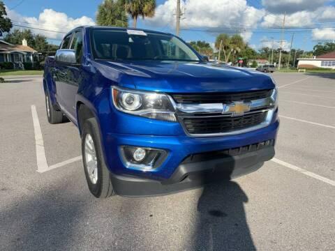 2018 Chevrolet Colorado for sale at LUXURY AUTO MALL in Tampa FL