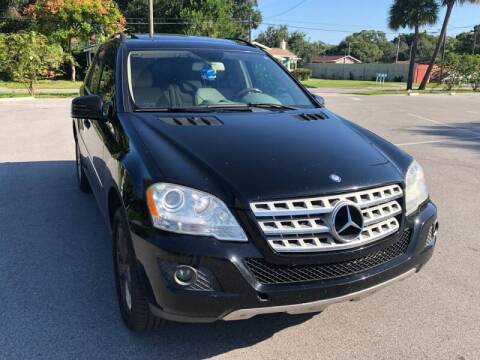 2011 Mercedes-Benz M-Class for sale at LUXURY AUTO MALL in Tampa FL