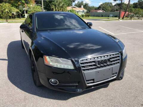 2011 Audi A5 for sale at LUXURY AUTO MALL in Tampa FL