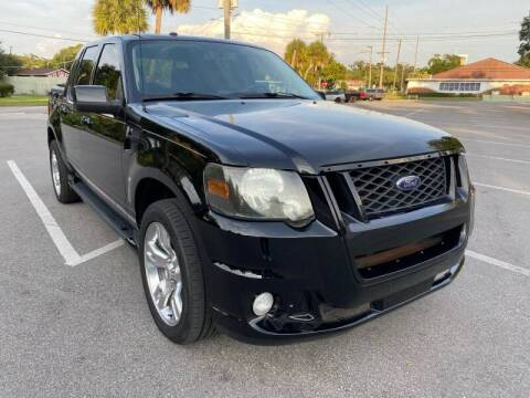 2010 Ford Explorer Sport Trac for sale at LUXURY AUTO MALL in Tampa FL