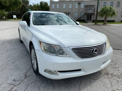 2007 Lexus LS 460 for sale at LUXURY AUTO MALL in Tampa FL
