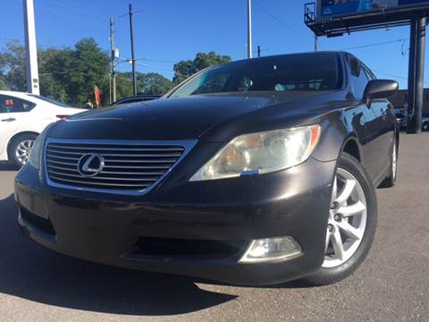 2008 Lexus LS 460 for sale at LUXURY AUTO MALL in Tampa FL