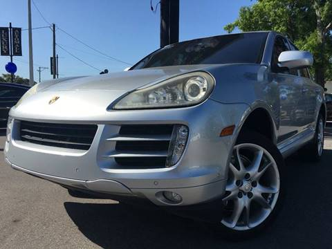 2008 Porsche Cayenne for sale at LUXURY AUTO MALL in Tampa FL