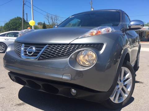 2012 Nissan JUKE for sale at LUXURY AUTO MALL in Tampa FL