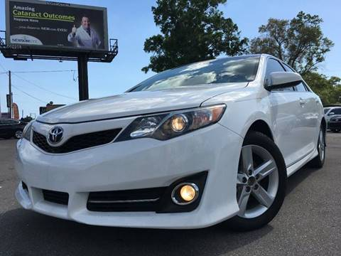 2013 Toyota Camry for sale at LUXURY AUTO MALL in Tampa FL