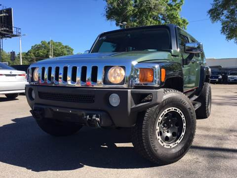 2006 HUMMER H3 for sale at LUXURY AUTO MALL in Tampa FL