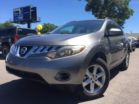 2009 Nissan Murano for sale at LUXURY AUTO MALL in Tampa FL