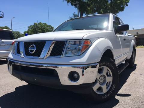 2007 Nissan Frontier for sale at LUXURY AUTO MALL in Tampa FL