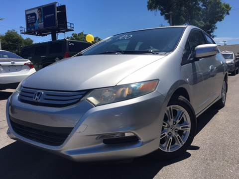2010 Honda Insight for sale at LUXURY AUTO MALL in Tampa FL