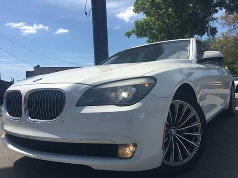 2011 BMW 7 Series for sale at LUXURY AUTO MALL in Tampa FL