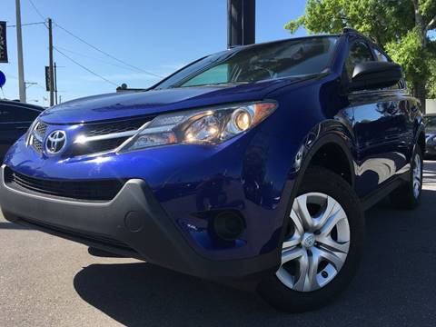 2014 Toyota RAV4 for sale at LUXURY AUTO MALL in Tampa FL