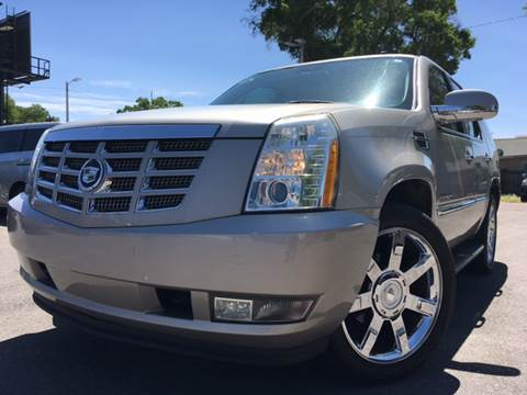 2007 Cadillac Escalade for sale at LUXURY AUTO MALL in Tampa FL