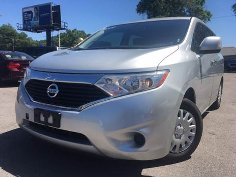 2012 Nissan Quest for sale at LUXURY AUTO MALL in Tampa FL