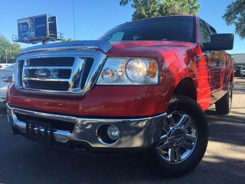 2007 Ford F-150 for sale at LUXURY AUTO MALL in Tampa FL