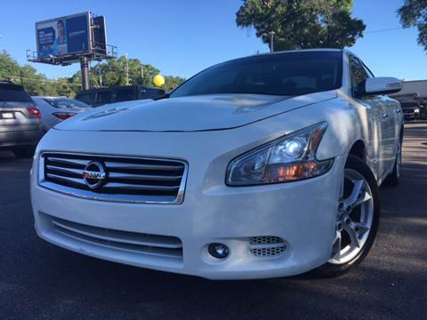 2013 Nissan Maxima for sale at LUXURY AUTO MALL in Tampa FL