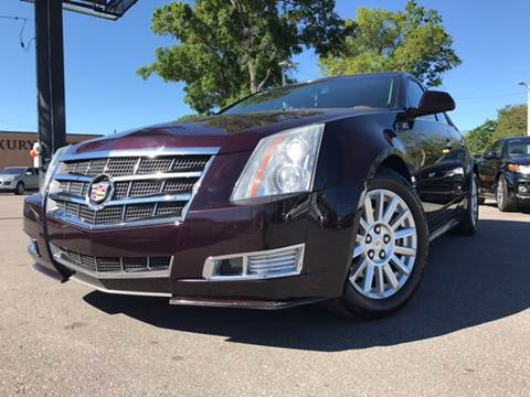 2010 Cadillac CTS for sale at LUXURY AUTO MALL in Tampa FL