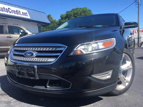 2010 Ford Taurus for sale at LUXURY AUTO MALL in Tampa FL
