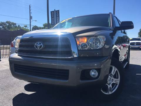 2008 Toyota Sequoia for sale at LUXURY AUTO MALL in Tampa FL