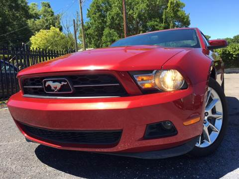 2011 Ford Mustang for sale at LUXURY AUTO MALL in Tampa FL