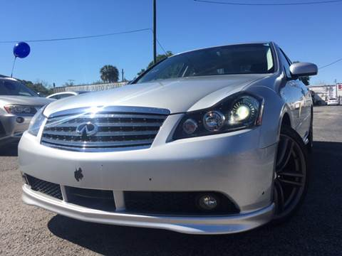 2006 Infiniti M45 for sale at LUXURY AUTO MALL in Tampa FL