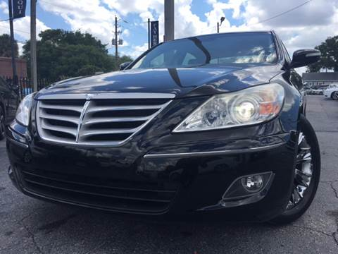 2009 Hyundai Genesis for sale at LUXURY AUTO MALL in Tampa FL