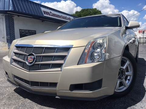 2008 Cadillac CTS for sale at LUXURY AUTO MALL in Tampa FL